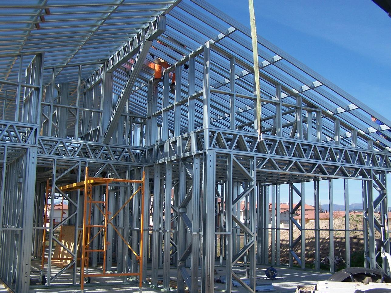 Estructura Acero Galvanizado en caliente - Casas prefabricadas TecnoHome